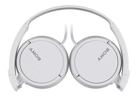 fone ouvido branco sony mdr-zx110 headphone original