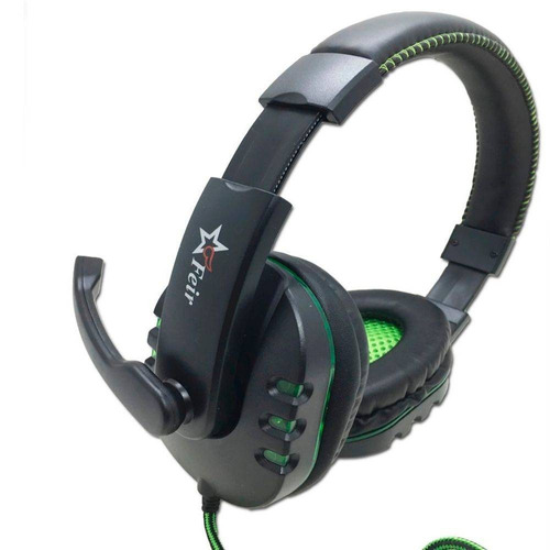 fone ouvido gamer headset com microfone usb pc note xbox ps4