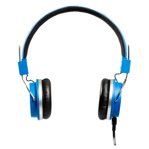 fone ouvido headphone bomber quake cabo flat hb02 blue