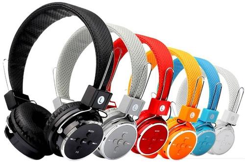 fone ouvido headphone sem fio bluetooth sd fm mp3 usb p2 b05