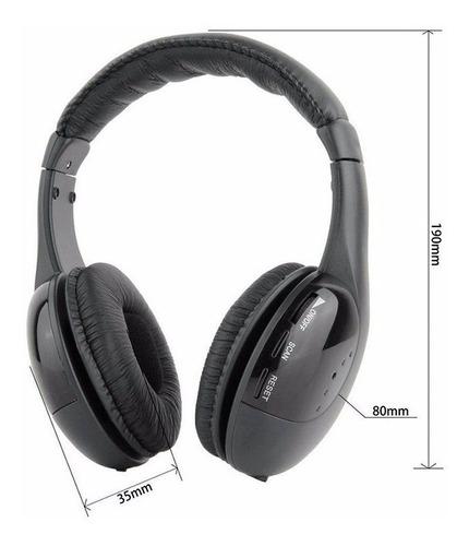 fone ouvido headphone wireless 5x1 sem fio pc smart tv f70