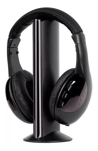fone ouvido headphone wireless 5x1 sem fio pc tv knup