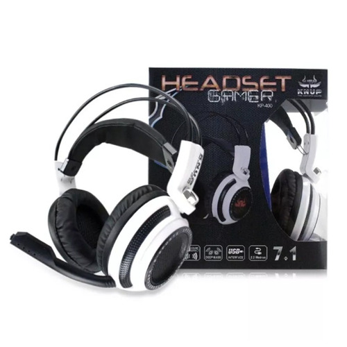 fone ouvido headset gamer led microfone jogo onlin chat f51