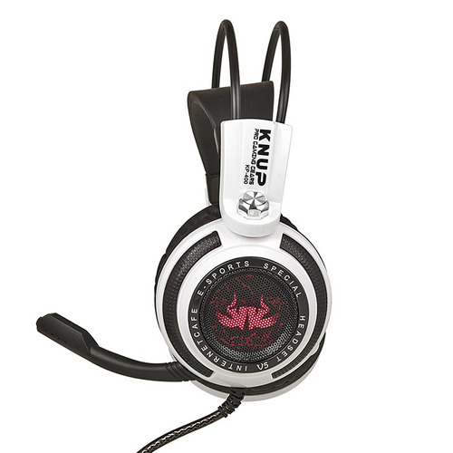 fone ouvido headset gamer led microfone jogo onlin chat f51
