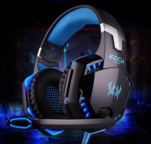 fone ouvido headset gamer usb microfone kotion each g2000