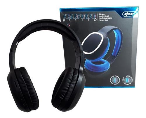 fone ouvido headset knup kp-439 bluetooth sem fio wireless