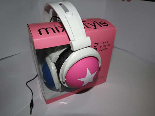fone ouvido mix style headphone stereo p2 - cel iphone ipod