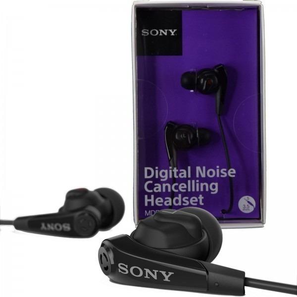 Fone Sony Mdr Nc31em Com Cancelamento De Ruido Digital