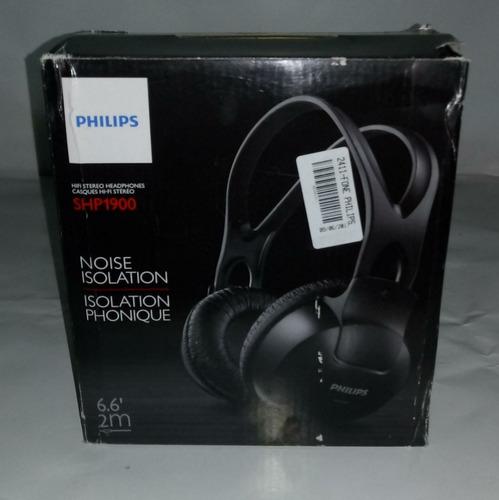 fones de ouvido estéreo shp1900