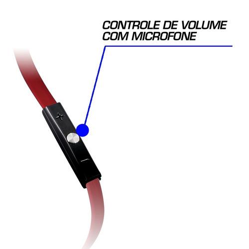 fones headset de ouvido m headphone intra auricular