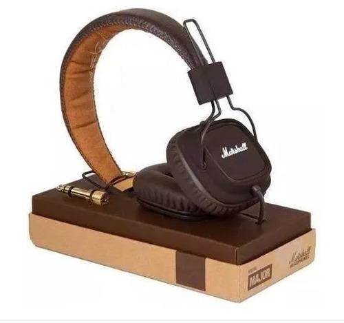 fones major brown marrom marshall - original na caixa