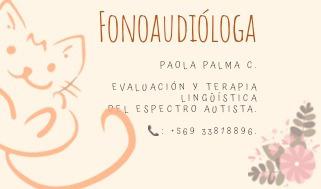 fonoaudióloga a domicilio