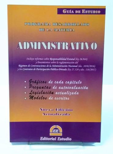 font, m. - guía de estudio de derecho administrativo