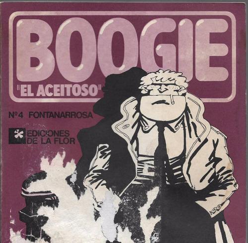 fontanarrosa - boogie el aceitoso 4 - ed. de la flor