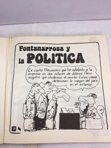 fontanarrosa y la política - humor grafico -libro - comic
