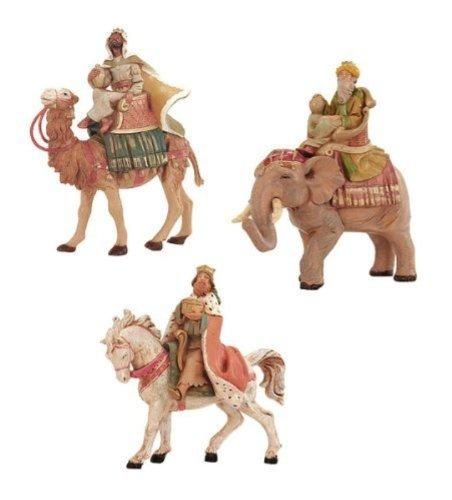 fontanini tres reyes en conjunto de animales
