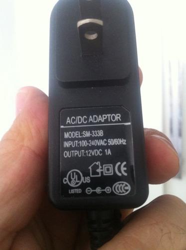 fonte 12 volts  1a bivolt model: sm-333b
