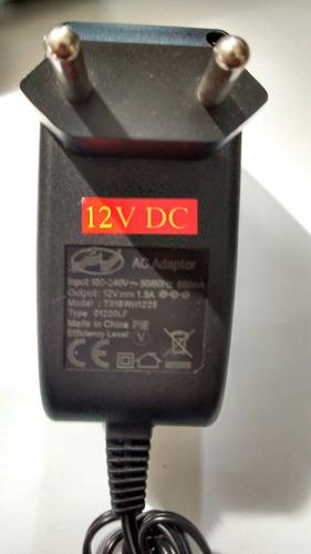 fonte 12v 1,5a - bivolt plug p4