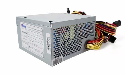 fonte 400w computador pc atx 12v v1.3 bivolt pronta entrega