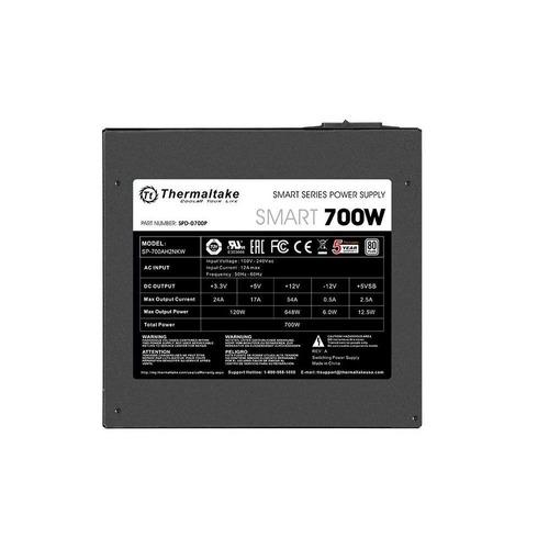 fonte 700w smart series 80 plus white thermaltake