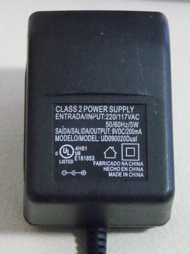 fonte 9v - 9 volts 200 ma