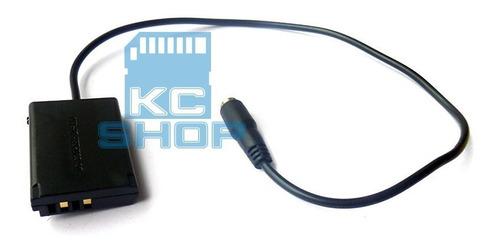fonte ack-dc110 adaptador ac p/ canon g5x g7x g9x sx620 hs