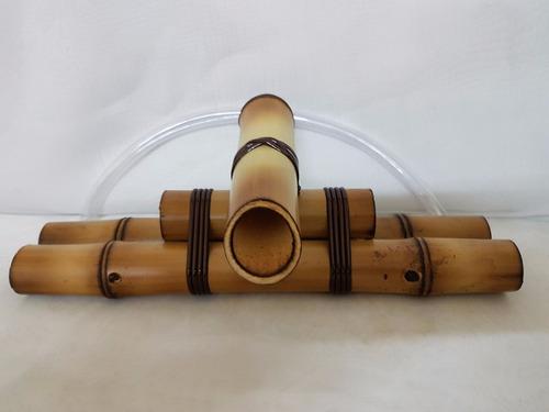 fonte água bambu