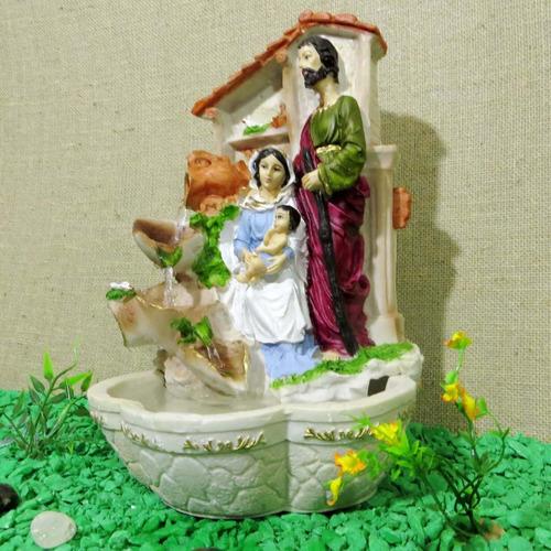 fonte água familia jesus - pague com cartão