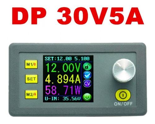 fonte ajustável dp30v5a com display colorido 30v 5a