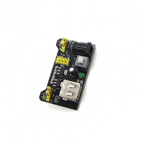 fonte ajustável protoboard 3.3v 5v