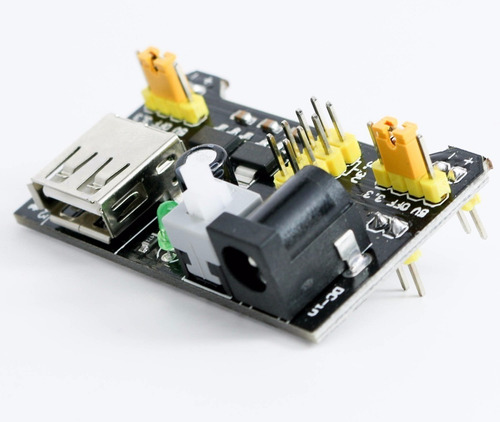 fonte ajustavel protoboard 3.3v/5v para protoboard e arduino