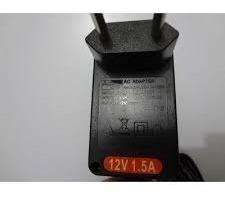 fonte alimentação 12v 1,5a bi-volt automática / kit r$ 9,99
