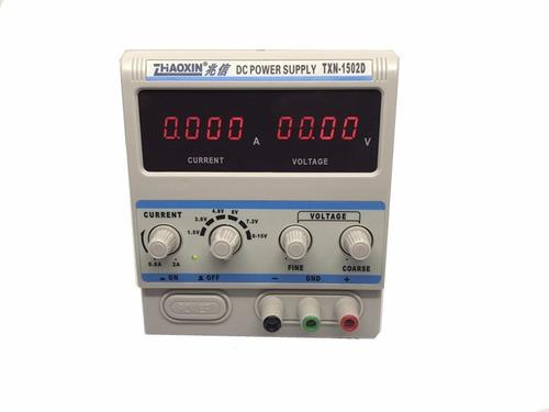 fonte alimentação digital - txn 1502 - display 4 dígitos
