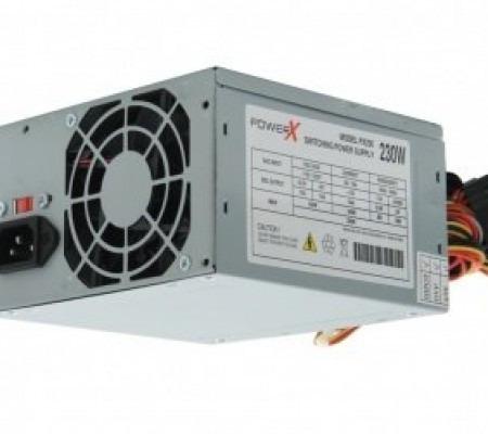 fonte atx 230w px230 power x s/ cabo