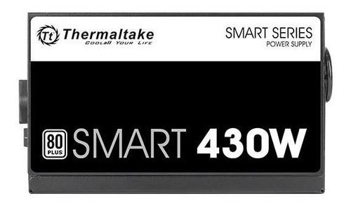 fonte atx 430w real thermaltake 80+ white spd-0430p pfc ativ