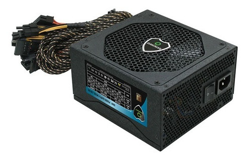 fonte atx 500w real 24p sata 80 plus bronze gm500 gamemax