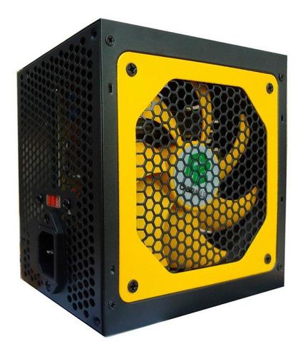 fonte atx 500w real gamer casemall total power w silenciosa