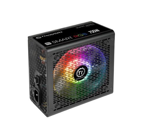 fonte atx 700w thermaltake smart rgb 256 cores 80 plus