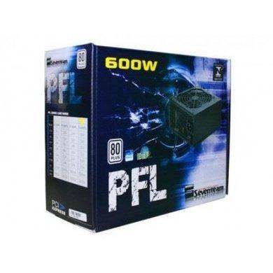 fonte atx seventeam st-600pfl 600w  80plus - pfc ativo