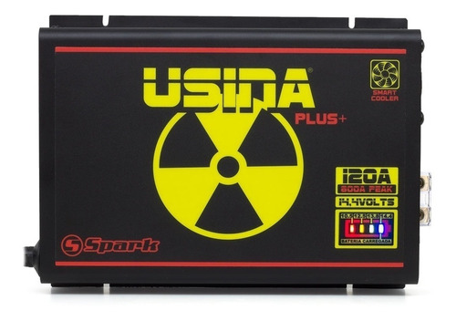 fonte automotiva carregador bateria usina 120a battery meter