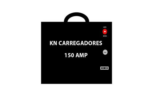 fonte automotiva carregador de bateria 150 amp com led