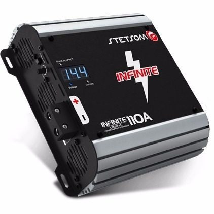 fonte automotiva stetsom infinite 110a 110 amperes 12 volts