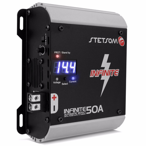 fonte automotiva stetsom infinite 50a 50 amperes 12 volts