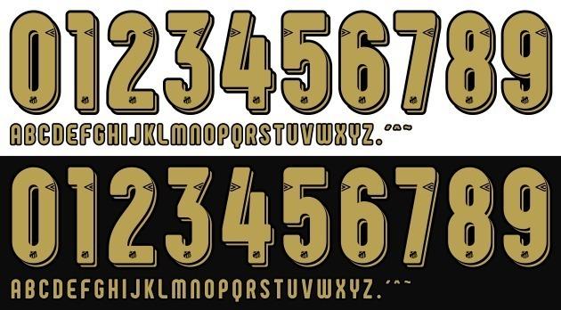 5796644d19 Fonte Camisa Do Santos 2018 2019 Letras E Números - R  10