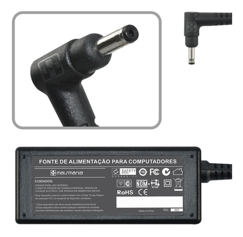 fonte carregador acer tablet iconia a101 a200 a210 a220  679
