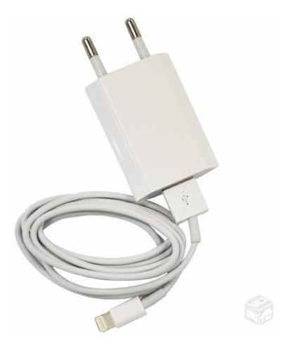 fonte carregador + cabo usb apple iphone 4,5,5c4s5s original