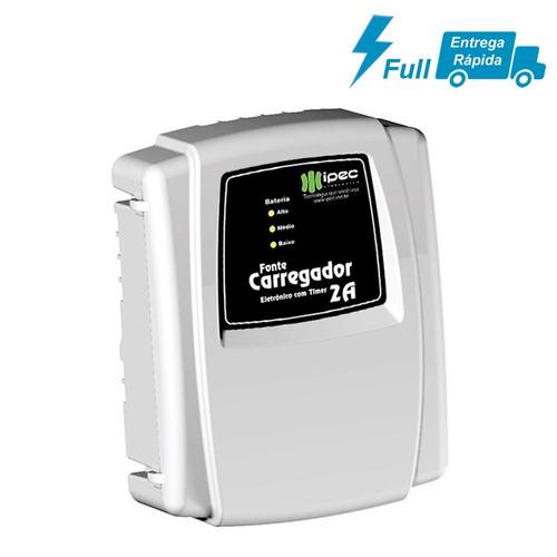 fonte carregador eletrônico flutuador com timer ipec