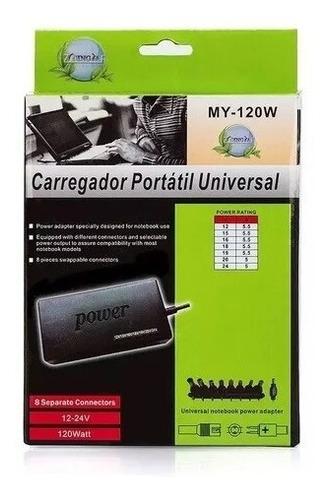 fonte carregador notebook com adaptador universal barato