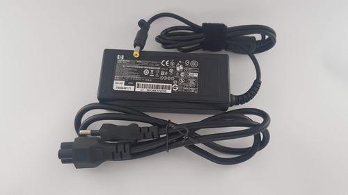 fonte carregador notebook hp compaq 510 530- 18.5v 3.5a 65w