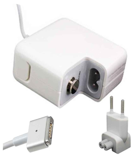 fonte carregador p/ apple macbook pró magsafe2 a1466 60w-ab7